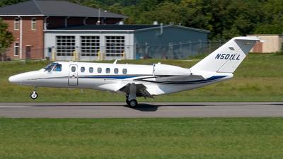 N501LL - Cessna 525 Citationjet CJ3 - Private