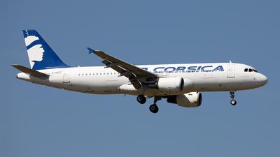 F-HBEV - Airbus A320-216 - Air Corsica