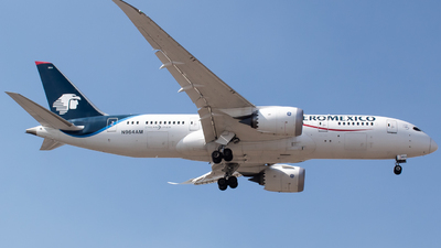 A picture of N964AM - Boeing 7878 Dreamliner - Aeromexico - © Miguel Fiesco (MAS Aviation Press)