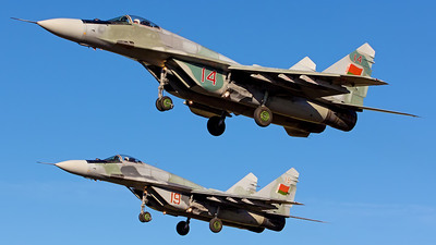 14 - Mikoyan-Gurevich MiG-29 Fulcrum - Belarus - Air Force