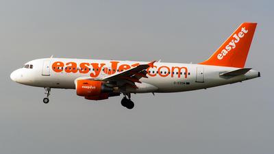 G-EZDM - Airbus A319-111 - easyJet