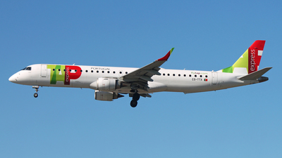 CS-TTX - Embraer 190-200IGW - TAP Express