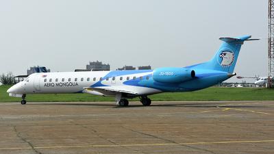 A picture of JU1800 - Embraer ERJ145LR - Aero Mongolia - © Haoran Xu