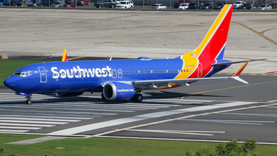N8742M - Boeing 737-8 MAX - Southwest Airlines