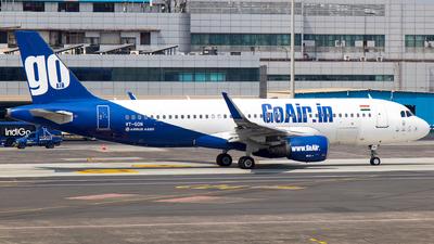A picture of VTGON - Airbus A320214 - Go Air - © Aneesh Bapaye