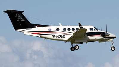 A picture of VHZGD - Beech B200 Super King Air - [BB1412] - © Daniel Benefield