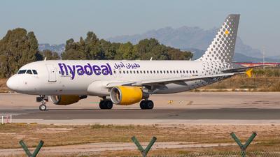 EC-LLJ - Airbus A320-214 - Flyadeal (Vueling)