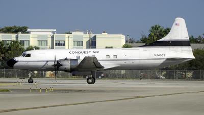 A picture of N145GT - Convair C131B Samaritan - [256] - © Paul Denton