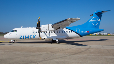 HB-ALN - ATR 42-500 - Zimex Aviation