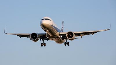 JA139A - Airbus A321-272N - All Nippon Airways (ANA)