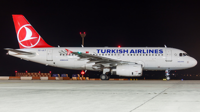 A picture of TCJLT - Airbus A319132 - Turkish Airlines - © Viktor László - Budapest Aviation Photography