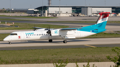 LX-LGF - Bombardier Dash 8-Q402 - Luxair - Luxembourg Airlines