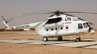 RA-22990 - Mil Mi-8MTV-1 Hip - United Nations (UN)