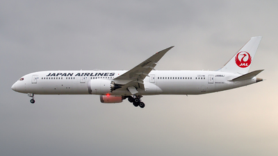JA864J - Boeing 787-9 Dreamliner - Japan Airlines (JAL)