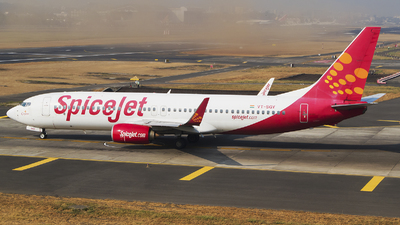 VT-SGY - Boeing 737-8GJ - SpiceJet