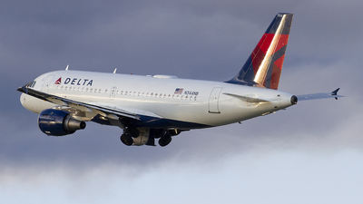 A picture of N344NB - Airbus A319114 - Delta Air Lines - © Jeremy D. Dando