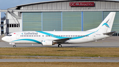 TC-TLC - Boeing 737-4Q8 - Taban Air (Tailwind Airlines)