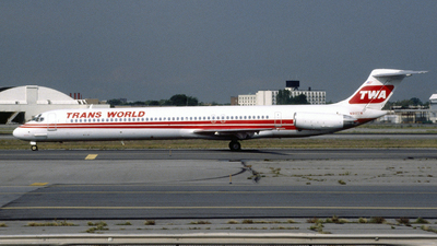 N911TW - McDonnell Douglas MD-82 - Trans World Airlines (TWA)