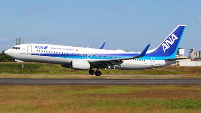 JA55AN - Boeing 737-881 - All Nippon Airways (ANA)