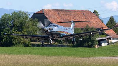 A picture of HBFVA - Pilatus PC12/47 - [833] - © Alex