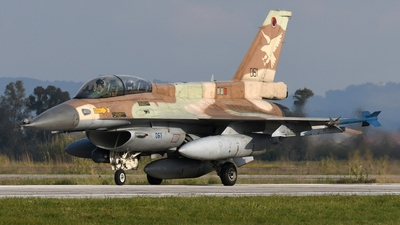 061 - General Dynamics F-16D Barak - Israel - Air Force