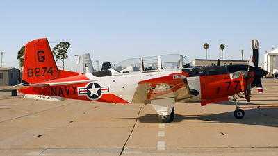 160274 - Beechcraft T-34C Turbo Mentor - United States - US Navy (USN)