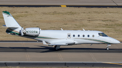 A picture of N722SW - Gulfstream G150 - [230] - © andyw720