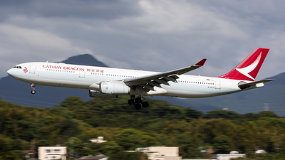B-HLG - Airbus A330-342 - Cathay Dragon