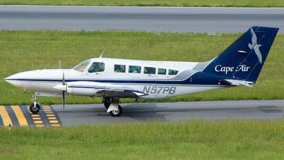 A picture of N57PB - Cessna 402C - Cape Air - © TriState Aviation