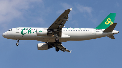 A picture of B6309 - Airbus A320214 - Spring Airlines - © SakaiWakana