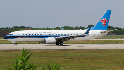A picture of B5419 - Boeing 73781B - China Southern Airlines - © ceci wong