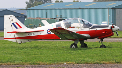 G-CBAN - Scottish Aviation Bulldog T.1 - Private