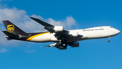 A picture of N624UP - Boeing 7478F - UPS - © John Newsome