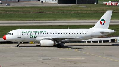 OY-JRK - Airbus A320-231 - Danish Air Transport (DAT)