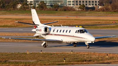 A picture of N594QS - Cessna 560XLS Citation Excel - NetJets - © Oliver Richter
