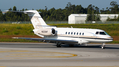 N223AF - Hawker Beechcraft 4000 - Private