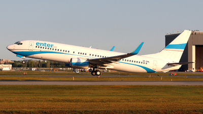 SP-ENL - Boeing 737-8CX - Enter Air