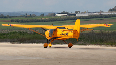 4X-HPP - EuroFox Microlight - Private