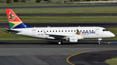 ZS-YBA - Embraer 170-100SL - Airlink