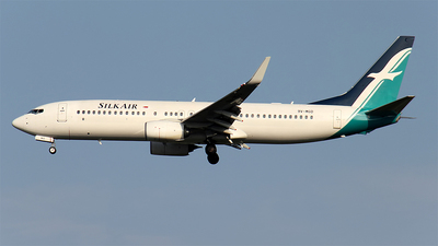 9V-MGD - Boeing 737-8SA - SilkAir