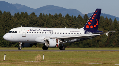 A picture of OOSSS - Airbus A319111 - Brussels Airlines - © Borut