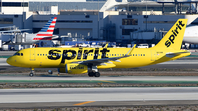 A picture of N651NK - Airbus A320232 - Spirit Airlines - © Rocky Wang