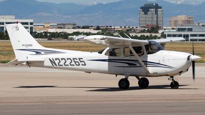 A picture of N22265 - Cessna 172S Skyhawk SP - [172S10026] - © Reuben Morison