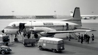 G-ARRW - Hawker Siddeley HS-748 - Skyways Coach-Air