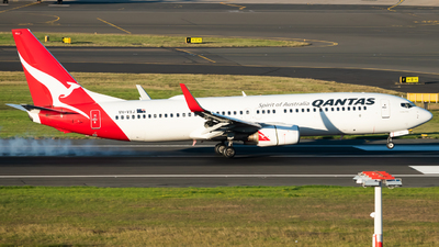 A picture of VHVXJ - Boeing 737838 - Qantas - © Gus Fuller