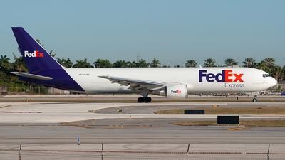 A picture of N151FE - Boeing 7673S2F(ER) - FedEx - © Mark Lawrence