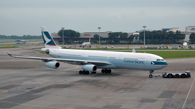 B-HXB - Airbus A340-313X - Cathay Pacific Airways
