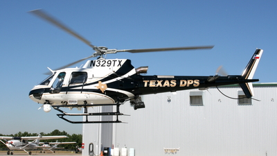 N329TX - Eurocopter AS 350B3 Ecureuil - United States - Texas Department of Public Safety