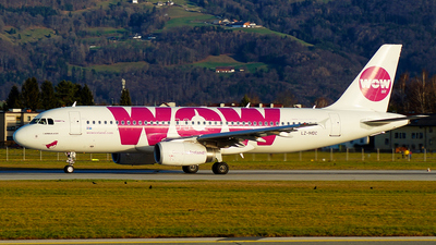 LZ-MDC - Airbus A320-232 - WOW Air