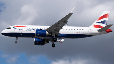 A picture of GTTNK - Airbus A320251N - British Airways - © Jack Snow